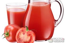 suco de tomates