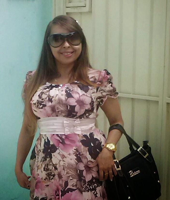 moda vestido floral
