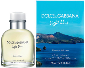 Light Blue pour Homme Discover Vulcano Dolce e Gabbana Perfumes Masculinos