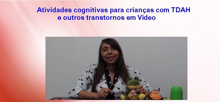 Vídeo com atividades cognitivas para crianças que têm TDAH