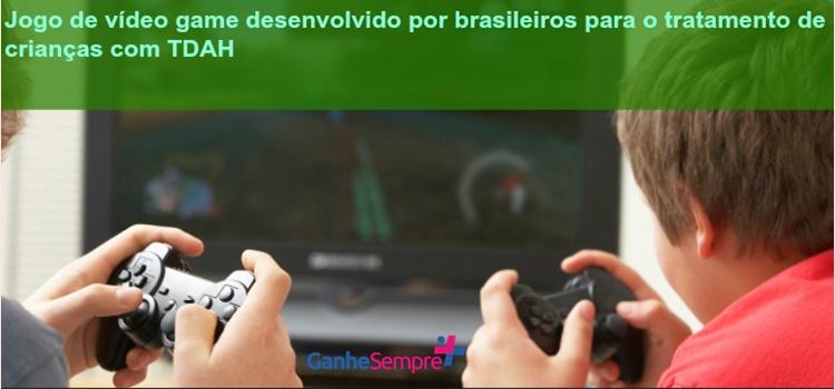 Jogo de Vídeo Game desenvolvido por brasileiros para o tratamento de crianças com TDAH. Com atividades